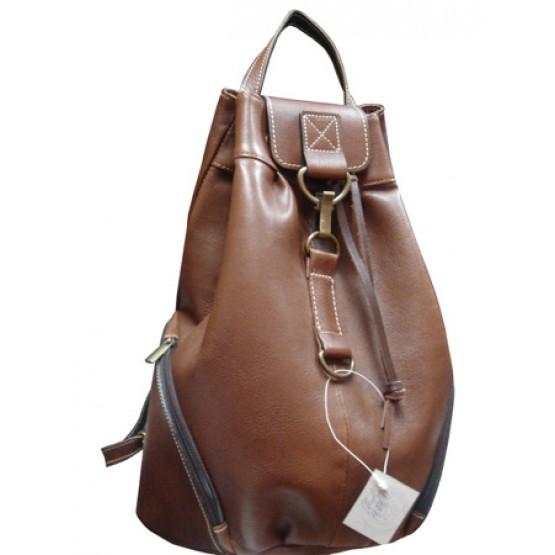 """Кожаный рюкзак """"Скиппи"""""""