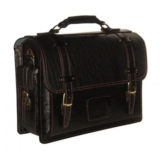 Кожаный портфель кожаный LEO-012