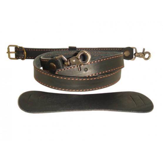 Кожаный портфель-планшет LEO-015