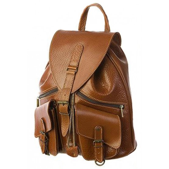"""Кожаный рюкзак """"Пилот"""""""