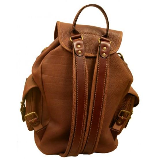 """Кожаный рюкзак """"Мидл"""""""