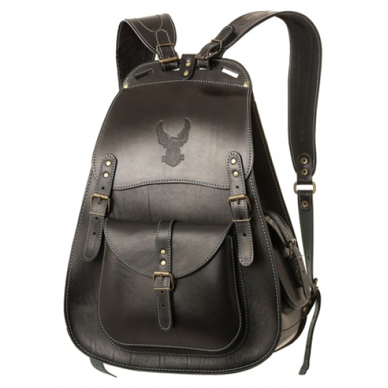 "Кожаный рюкзак ""Байкер"""