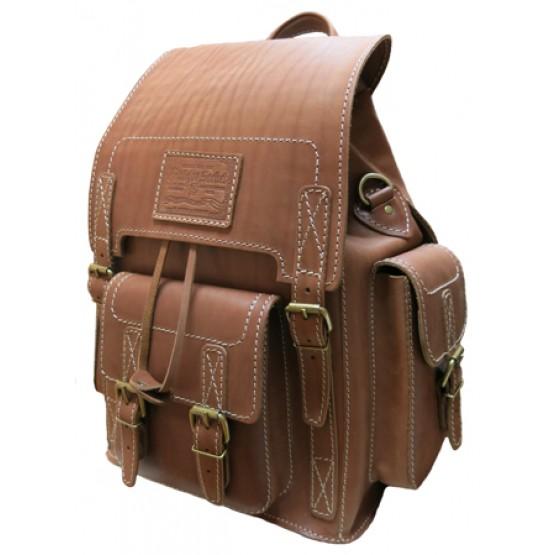 "Кожаный рюкзак ""Кэмэл"""