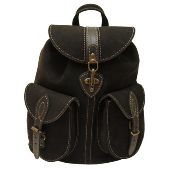 Кожаный рюкзак LEO 6
