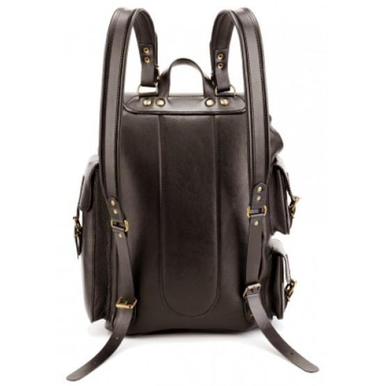 """Кожаный рюкзак """"Следопыт"""""""