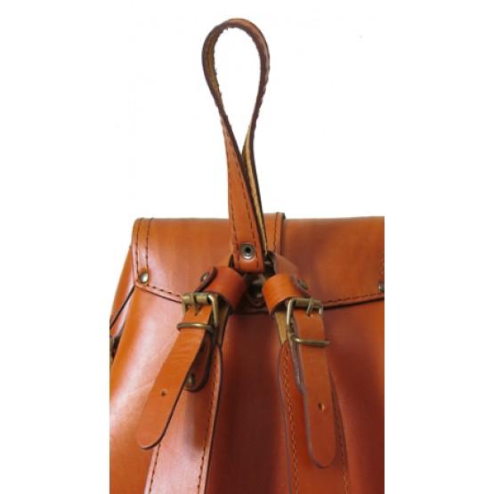 Кожаный рюкзак LEO  3