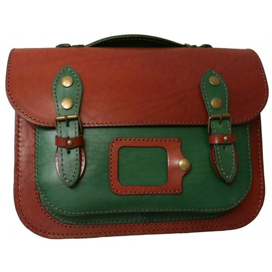 Кожаный портфель Leo 045  Cambridge Satchel