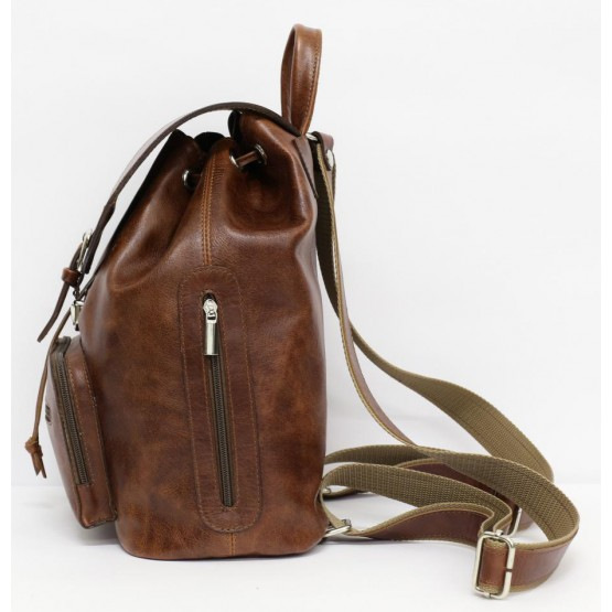 Кожаный рюкзак Ren 16-03