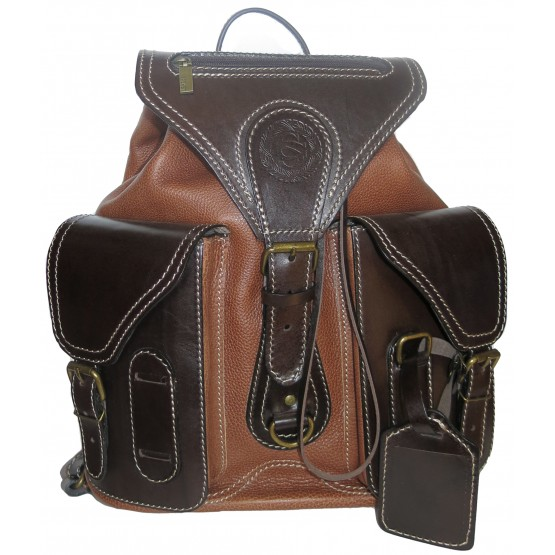 """Кожаный рюкзак """"Стиль-1"""""""