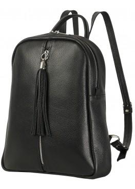 """Кожаный рюкзак """"Севилья"""" Ren 16-10 чёрный"""