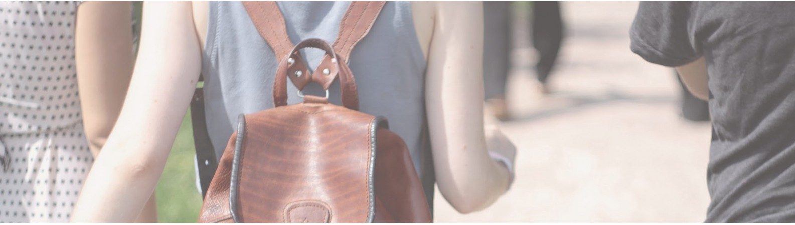 Кожаные рюкзаки