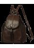 """Кожаный рюкзак """"Дения"""" Ren 16-09 коричневый"""