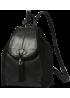 """Кожаный рюкзак """"Дения"""" Ren 16-09 чёрный"""