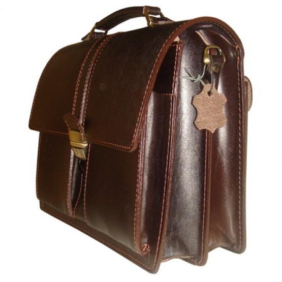 Портфель LEO-002 (коричневый)