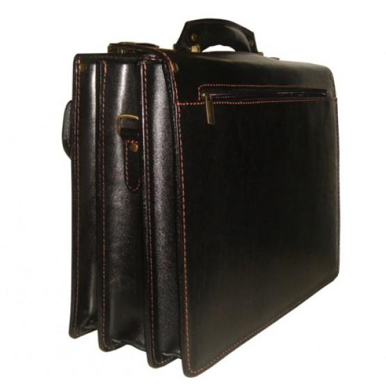 Кожаный портфель LEO-024