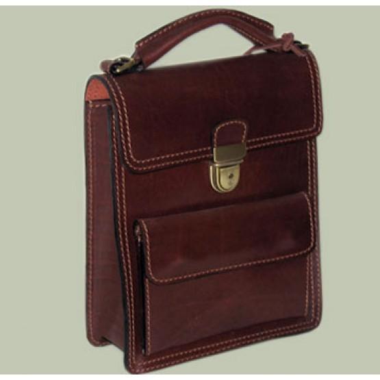 Планшет кожаный  Саше 206 (коричневый)
