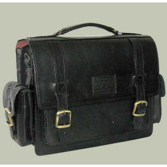 """Кожаный портфель """"Трансформер"""""""