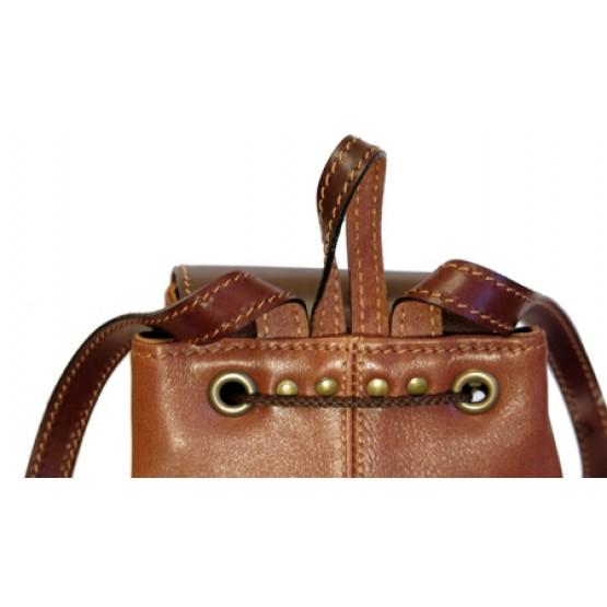 """Кожаный рюкзак """"Жоли"""""""