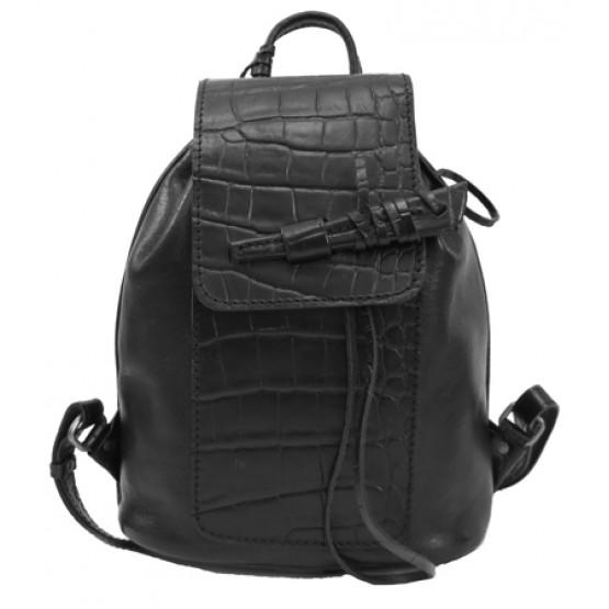 """Кожаный рюкзак """"Гейша"""""""