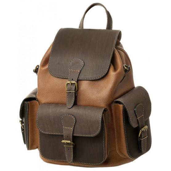 """Кожаный рюкзак """"Классик-3"""""""