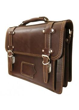 Портфель LEO-042 коричневый