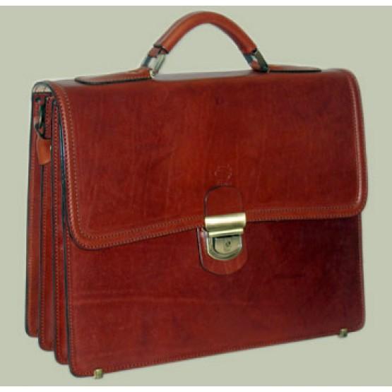"""Кожаный портфель """"Элегант"""""""