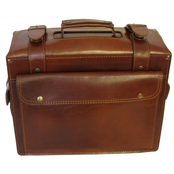 Портфель-сумка LEO-025 чёрный
