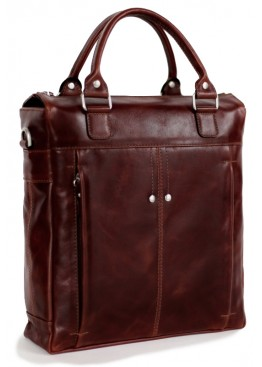 Сумка-портфель вертикальный См-112 Коричневый состаренный