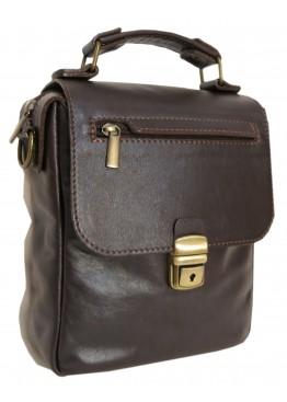 "Мужская сумка ""Марк"" тёмно-коричневая"
