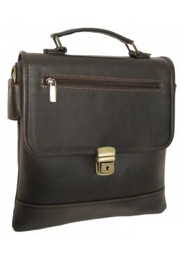 "Мужская сумка ""Камелот"" тёмно-коричневая"