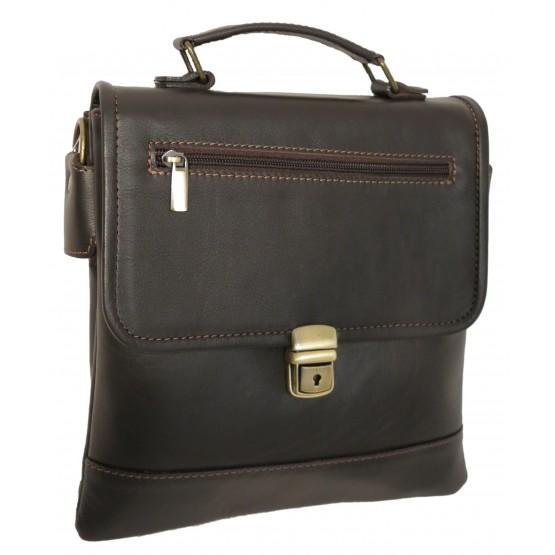 "Мужская сумка ""Камелот"" (тёмно-коричневая)"