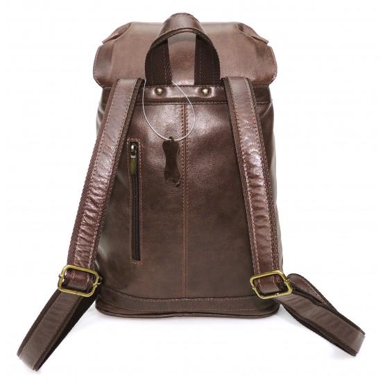Кожаный рюкзак «Примавера» (коричневый)