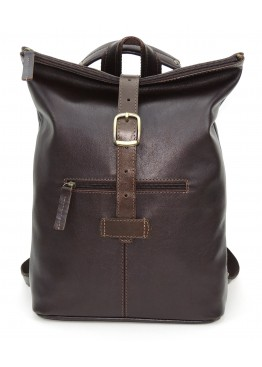 Кожаная сумка-рюкзак  «Саламандра» коричневая