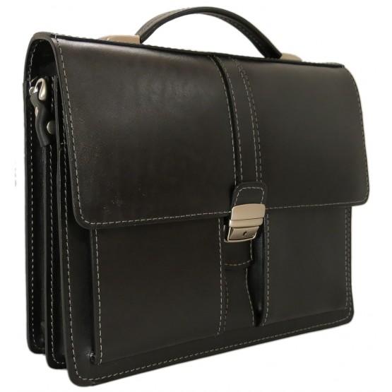 Портфель LEO-002 (чёрный)