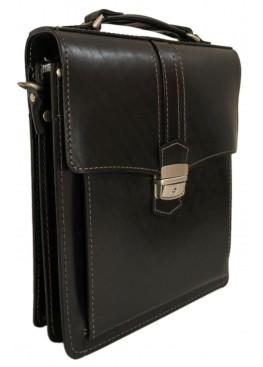Портфель LEO-007 А4 чёрный