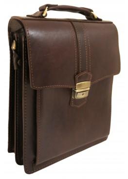 Портфель LEO-007 А4 коричневый