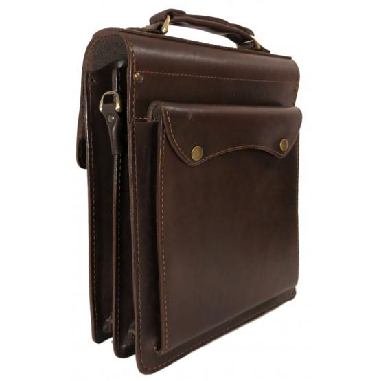 Портфель LEO-007 А4 (коричневый)