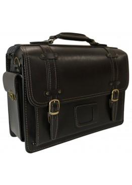 Портфель кожаный LEO-012