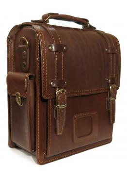 Портфель LEO-016 коричневый