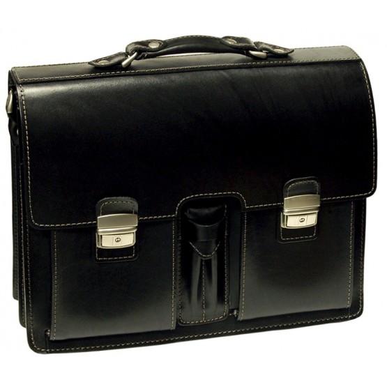 Портфель LEO-020 (чёрный)