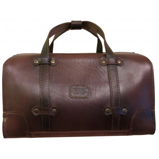 Саквояж LEO 022-2 (коричневый)