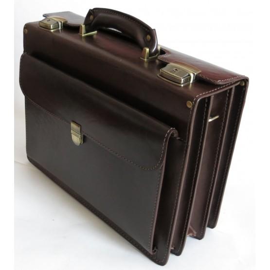 Портфель LEO-024 (коричневый)