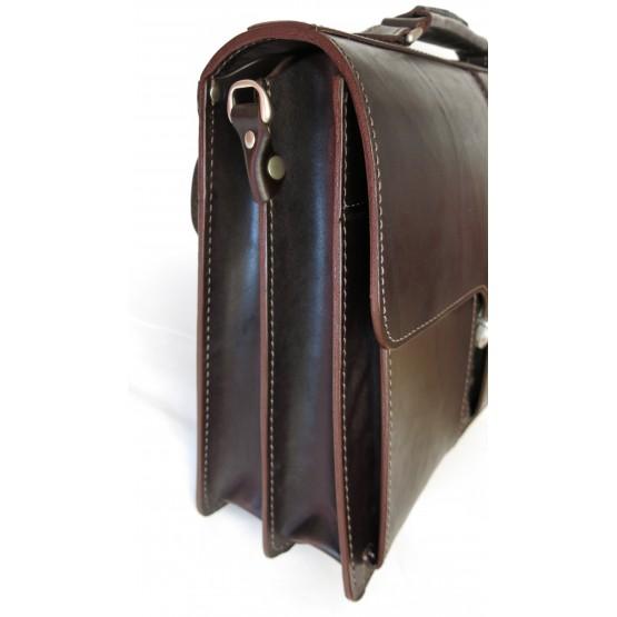 Портфель LEO-029 (коричневый)