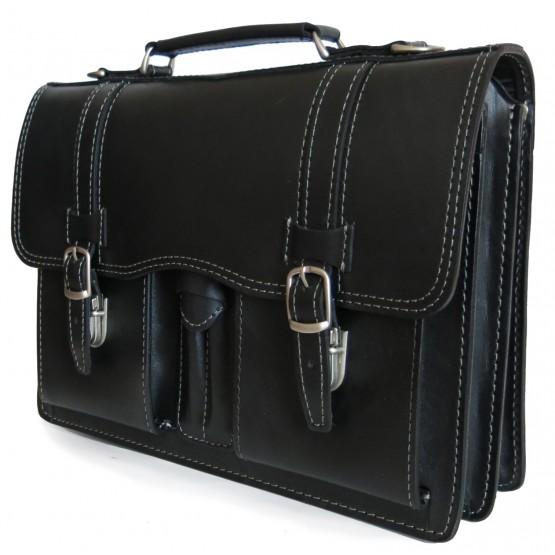 Портфель LEO-030 (чёрный)