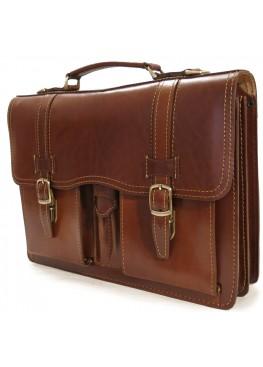 Портфель LEO-030 коричневый