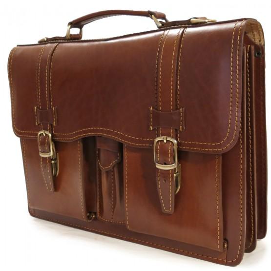 Портфель LEO-030 (коричневый)