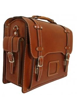 Портфель LEO-041 коричневый