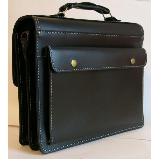 Портфель LEO-068 (чёрный)
