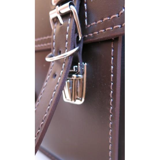 Портфель LEO-068 (коричневый)