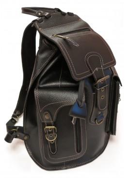 Рюкзак LEO-12 «Бомбей» чёрный
